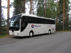 Hansareisid MAN buss